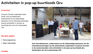 QRU in de media_Gemeente Amsterdam
