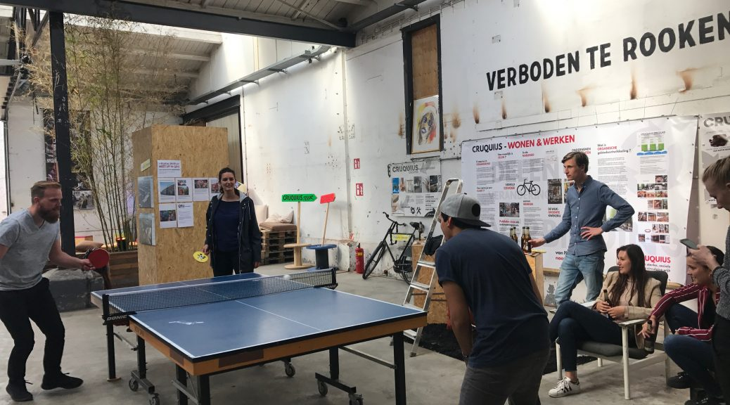 Tafeltennis Ping Pong Amsterdam Oost